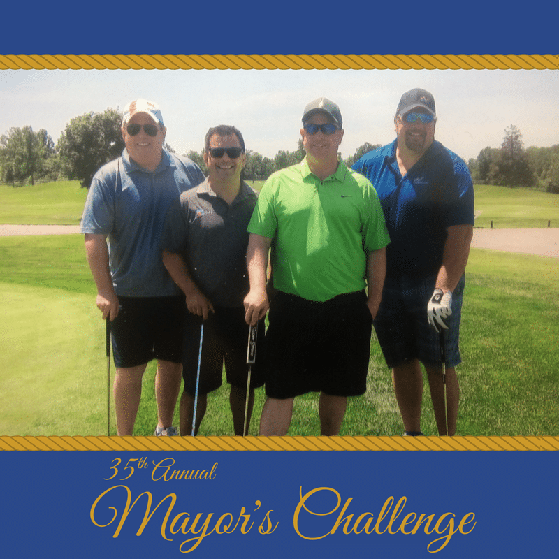 35th Annual Mayors' Challenge Golf Tournament - Kurt Gregoire, Kris Gregoire, Dr. Mathew Wong, Mark Ford