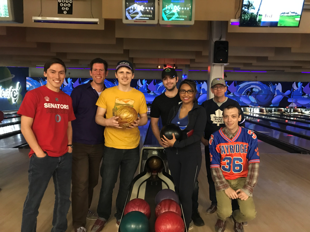 Kingston location employees raised 750 for Big Brothers and Big Sisters in the Bowl for Kids' Sake event